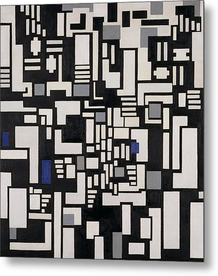 Composition Ix Metal Print by Theo Van Doesburg