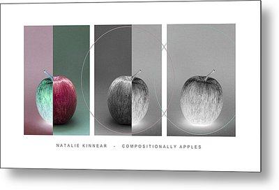 Compositionally Apples Metal Print by Natalie Kinnear