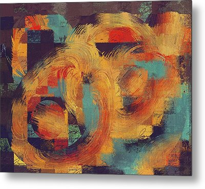 Composix - 033100100ac2t Metal Print by Variance Collections