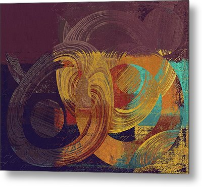 Composix - 164164100a2t1 Metal Print by Variance Collections