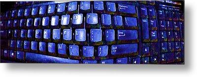 Computer Keyboard  Metal Print by Dan Twyman