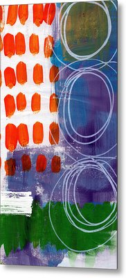 Concerto One - Abstract Art Metal Print by Linda Woods