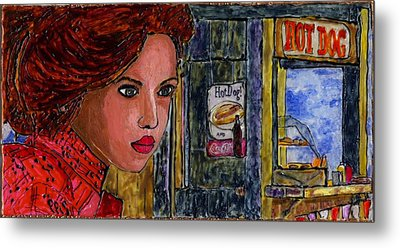 Concessions Metal Print by Phil Strang