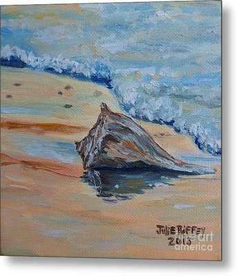 Conched Out Metal Print by Julie Brugh Riffey