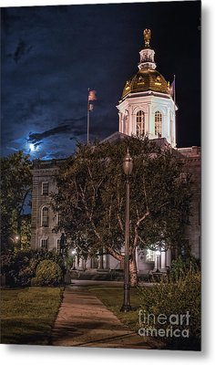 Concord By Moonlight Metal Print by Scott Thorp