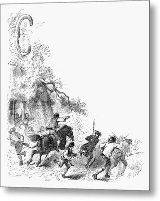 Concord: Minutemen, 1775 Metal Print by Granger