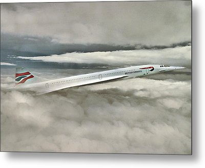 Concord Picking Up Metal Print by Yury Malkov