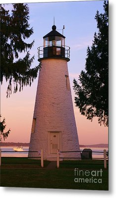 Concord Point Lighthouse Metal Print by Mark  Wall