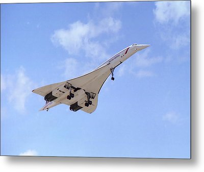 Concorde 04 Metal Print by Paul Gulliver