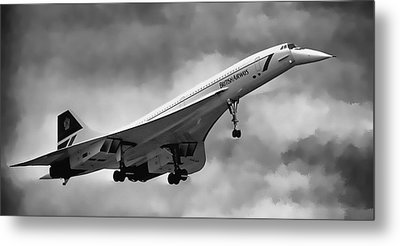 Concorde Supersonic Transport S S T Metal Print