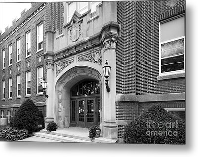 Concordia University Meyer Hall Metal Print by University Icons