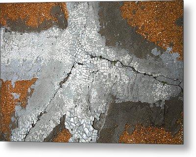 Concrete Evidence Metal Print