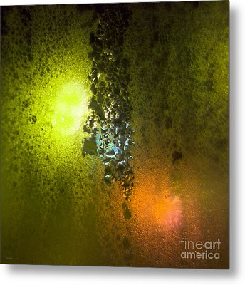 Condensation 08 - Saga - Citrus Metal Print by Pete Edmunds