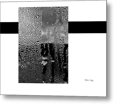 Condensed Window Metal Print by Xoanxo Cespon