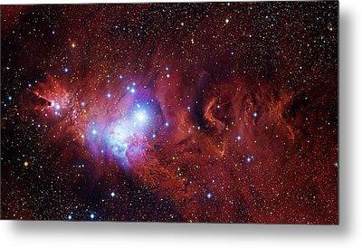 Cone Nebula And Christmas Tree Cluster Metal Print by Robert Gendler