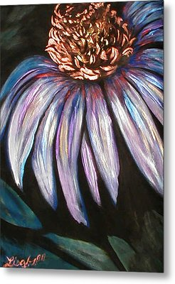 Coneflower Painting Metal Print