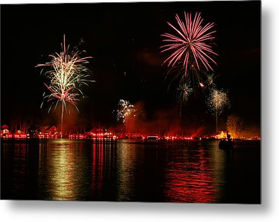 Conesus Ring Of Fire Metal Print by Richard Engelbrecht