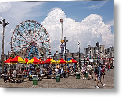 Coney Island June 2013 Metal Print