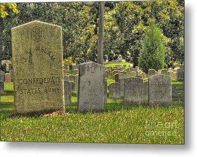 Confederate Graves Metal Print