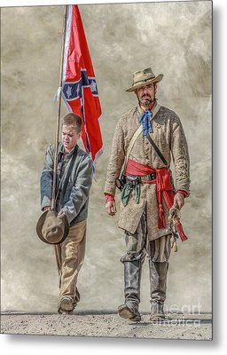 Confederate Sons Metal Print