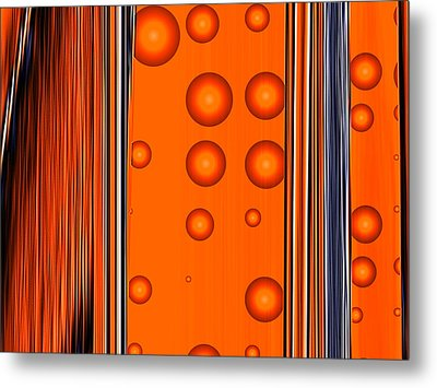 Conflict Of Interest Metal Print by Wendy J St Christopher