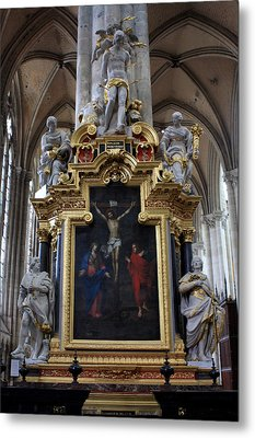Confrerie Notre Dame Du Puy Metal Print by Aidan Moran