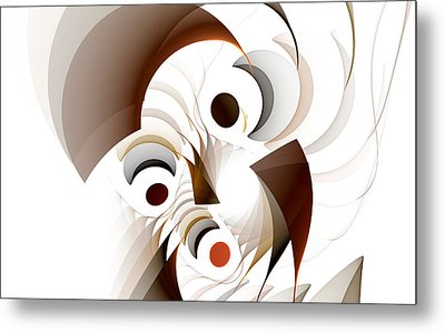 Confusion Metal Print by GJ Blackman