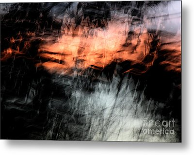 Confusion Metal Print by Jessica Shelton