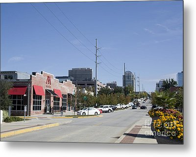 Congaree Vista District In Columbia South Carolina Metal Print