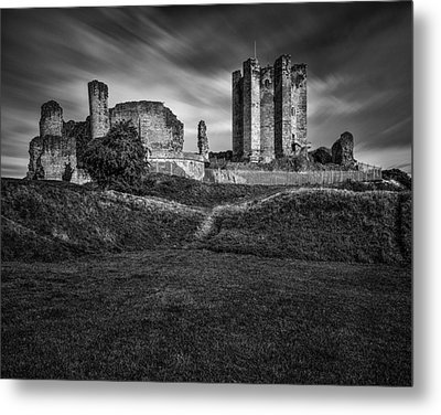 Conisbrough Castle Doncaster Metal Print by Ian Barber