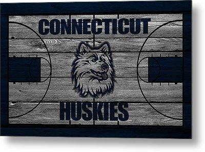 Connecticut Huskies Metal Print by Joe Hamilton