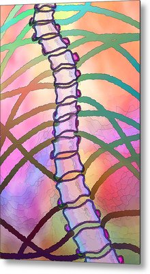 Connections  Metal Print by Ginny Schmidt