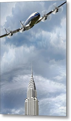 Connie And The Chrysler Metal Print
