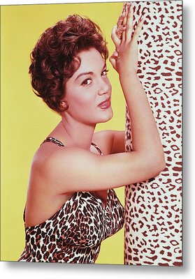 Connie Francis Metal Print by Silver Screen