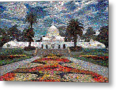 Conservatory Of Flowers Metal Print by Wernher Krutein
