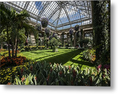 Conservatory Metal Print by Phil Abrams