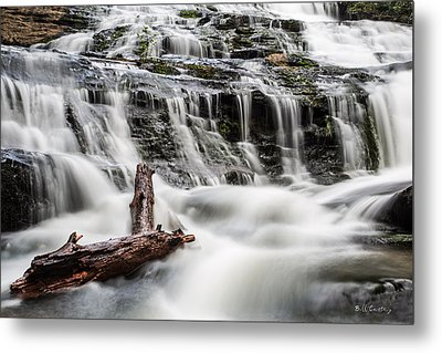 Constant Flow Metal Print by Bill Cantey