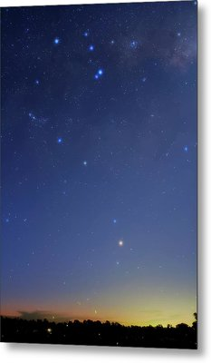 Constellation Of Scorpius Metal Print by Luis Argerich