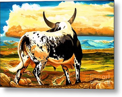 Contemplated Journey Metal Print by Cheryl Poland