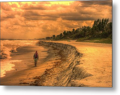Soul Search Metal Print by Dennis Baswell