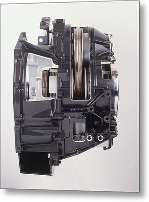 Continuously Variable Transmission Metal Print