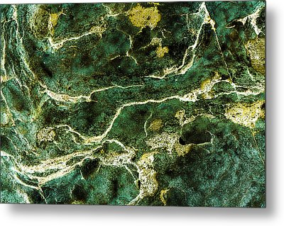 Contours 088 Abstract Metal Print by Natalie Kinnear