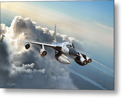 Convair Classic Metal Print by Peter Chilelli