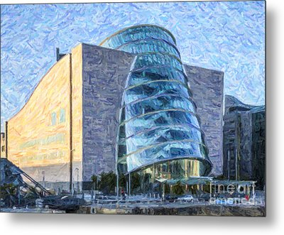 Convention Centre Dublin Republic Of Ireland Metal Print by Liz Leyden
