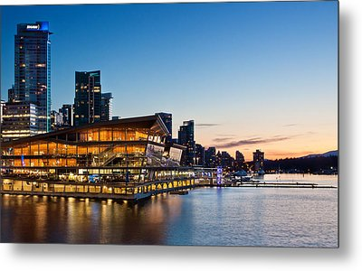 Convention Centre Sunset Metal Print by Alexis Birkill