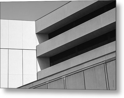 Metal Print featuring the photograph Converging Lines - Urban Abstracts by Steven Milner