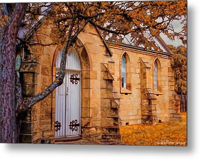 Convict Built Church 1873 Metal Print by Wallaroo Images