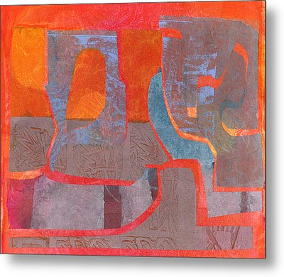 Convo Metal Print by Catherine Redmayne