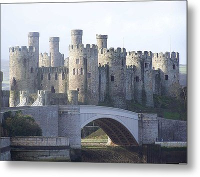 Metal Print featuring the photograph Conwy Castle by Christopher Rowlands