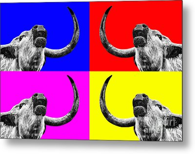 Coo Pop Art Too Metal Print by John Farnan